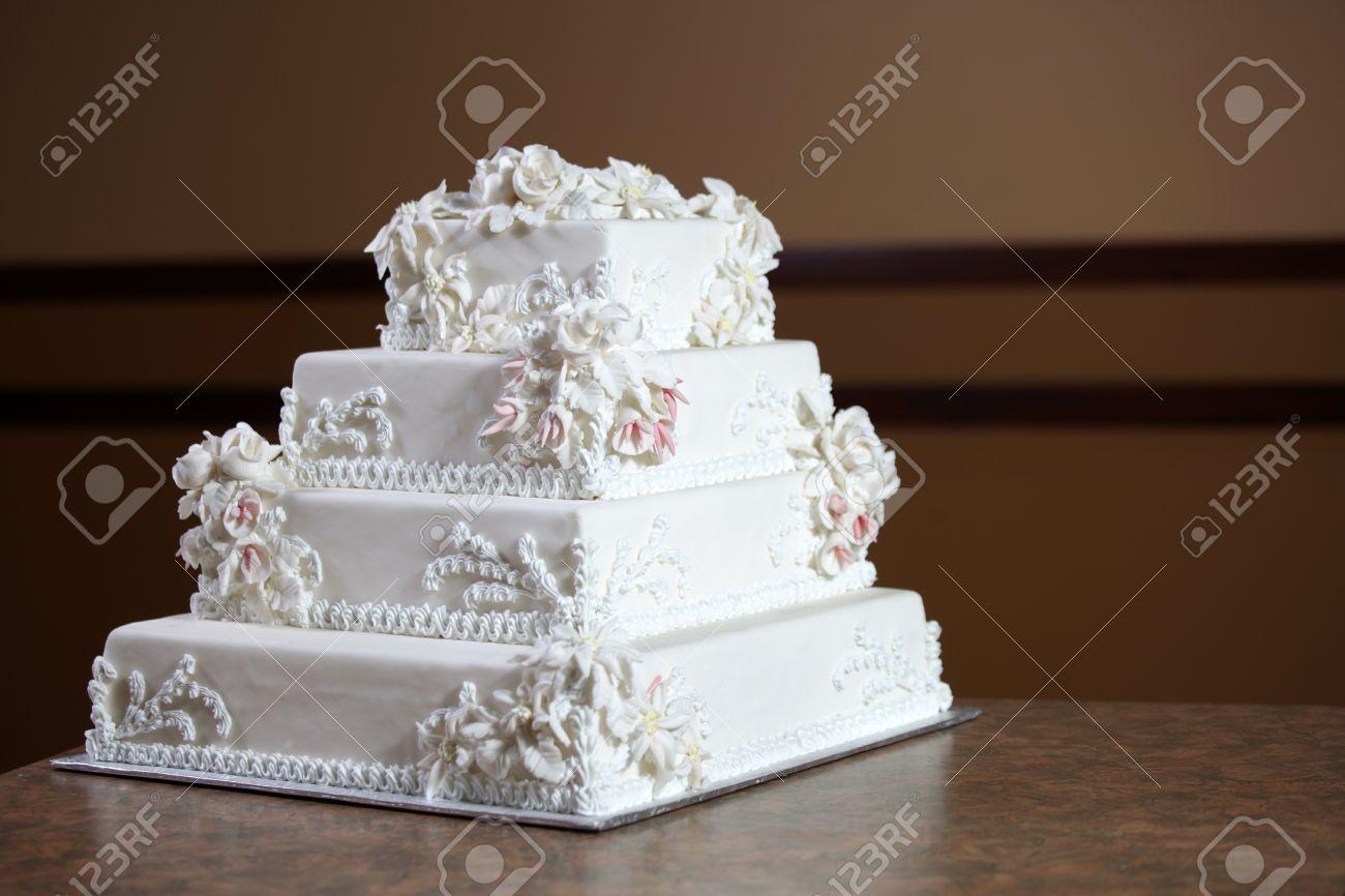 Gâteau De Mariage Luxe Cher Design