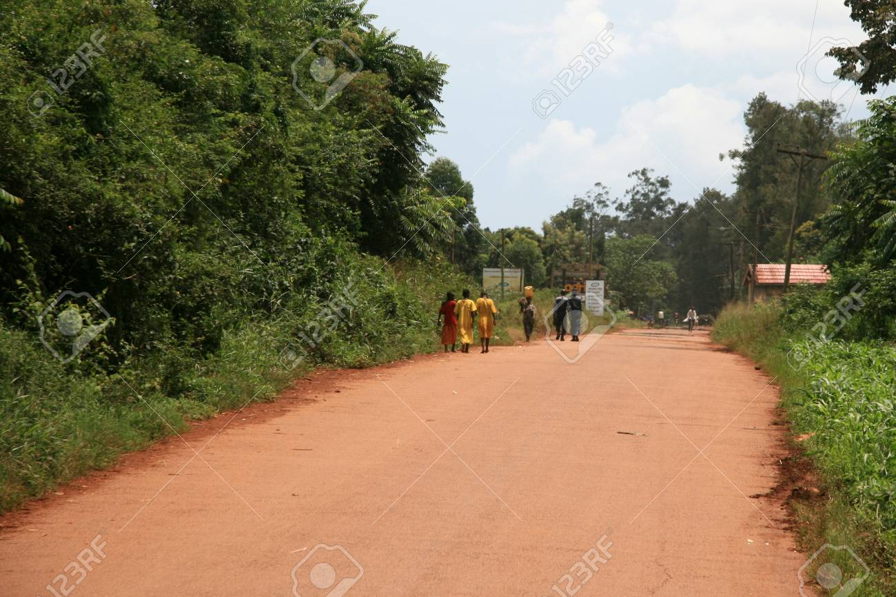 Jinja Town in Uganda - The Pearl of Africa Stock Photo - 14423337