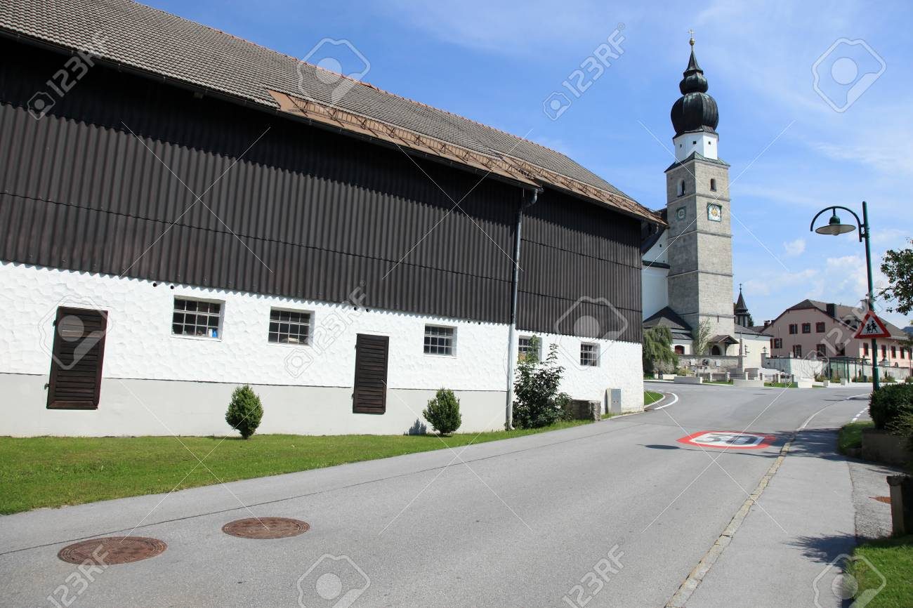 Eugendorf Village near Salzburg, Austria Stock Photo - 14841579