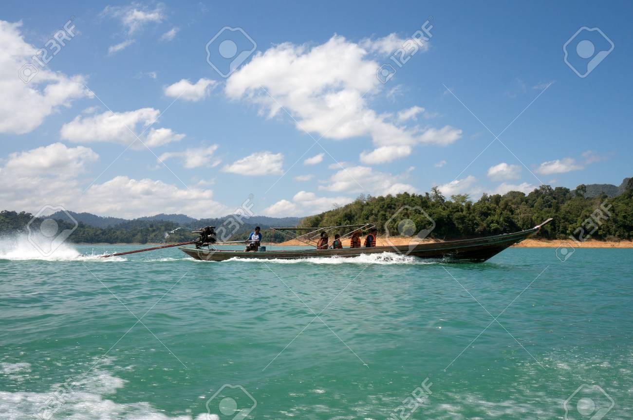 Chiao Lan Lake at Khao Sok National Park, Thailand Stock Photo - 18643889