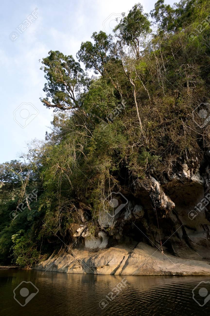 River at Khao Sok National Park, Thailand Stock Photo - 18647725
