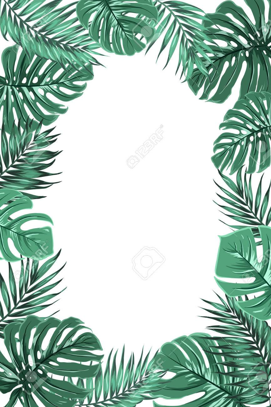 Exotic Tropical Jungle Rainforest Bright Green Palm Tree And Royalty Free Cliparts Vectors And Stock Illustration Image 74750138 You can find more tropical leaves clip arts in our search box. exotic tropical jungle rainforest bright green palm tree and