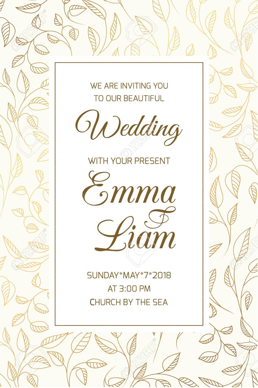 wedding marriage event invitation rsvp card template swirly