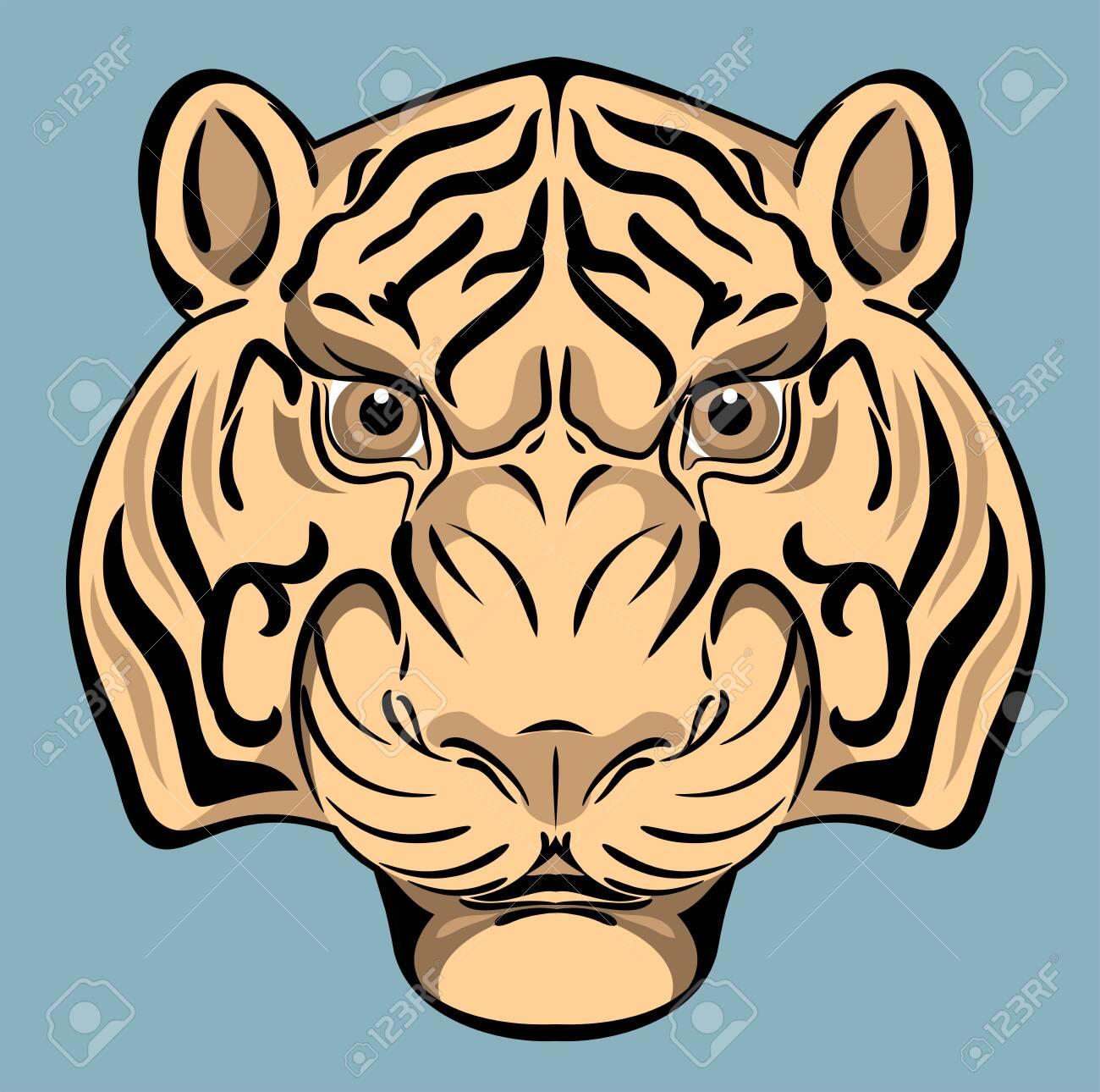Tiger portrait - 130864039