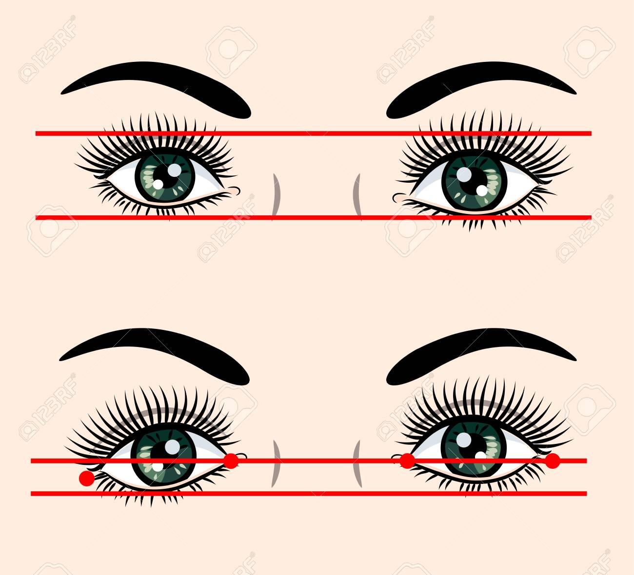 Various forms of human eyes - 130800594