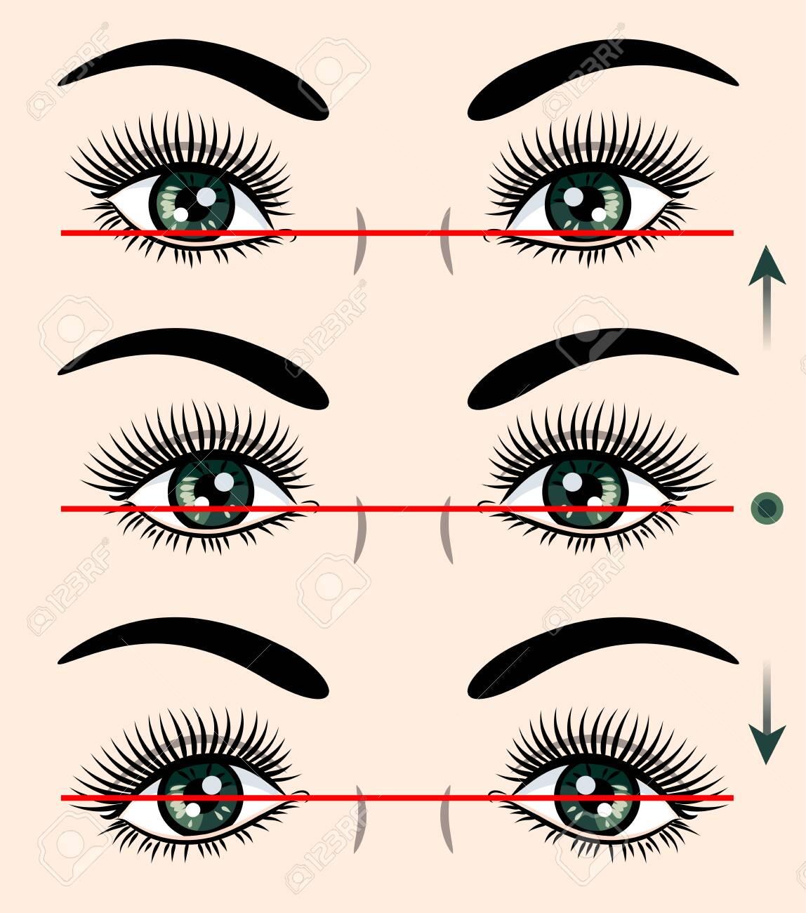 Various forms of human eyes - 130800612