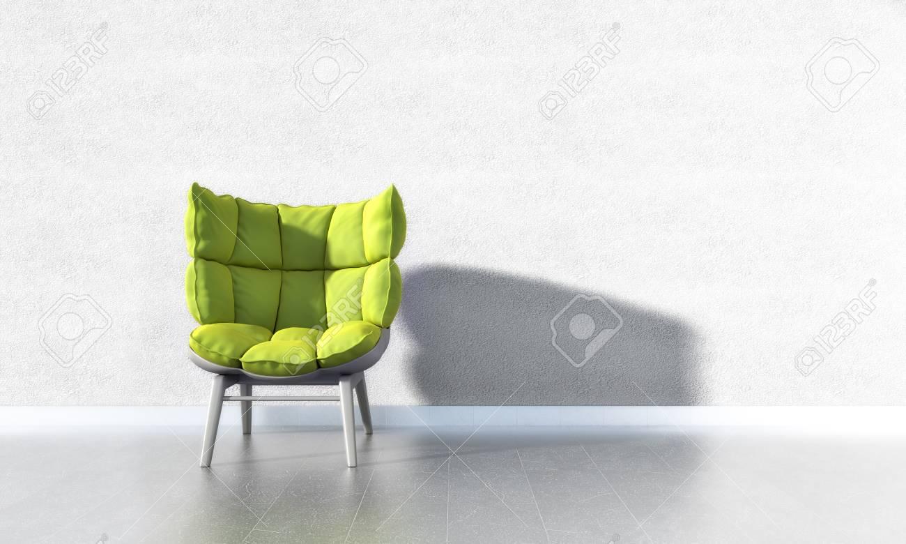 Green Chair Standard-Bild - 25284552