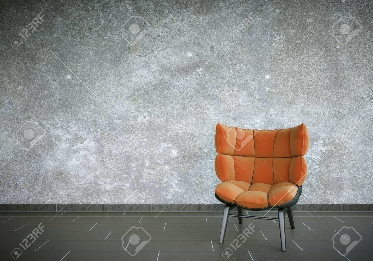 Red Chair Standard-Bild - 25284558