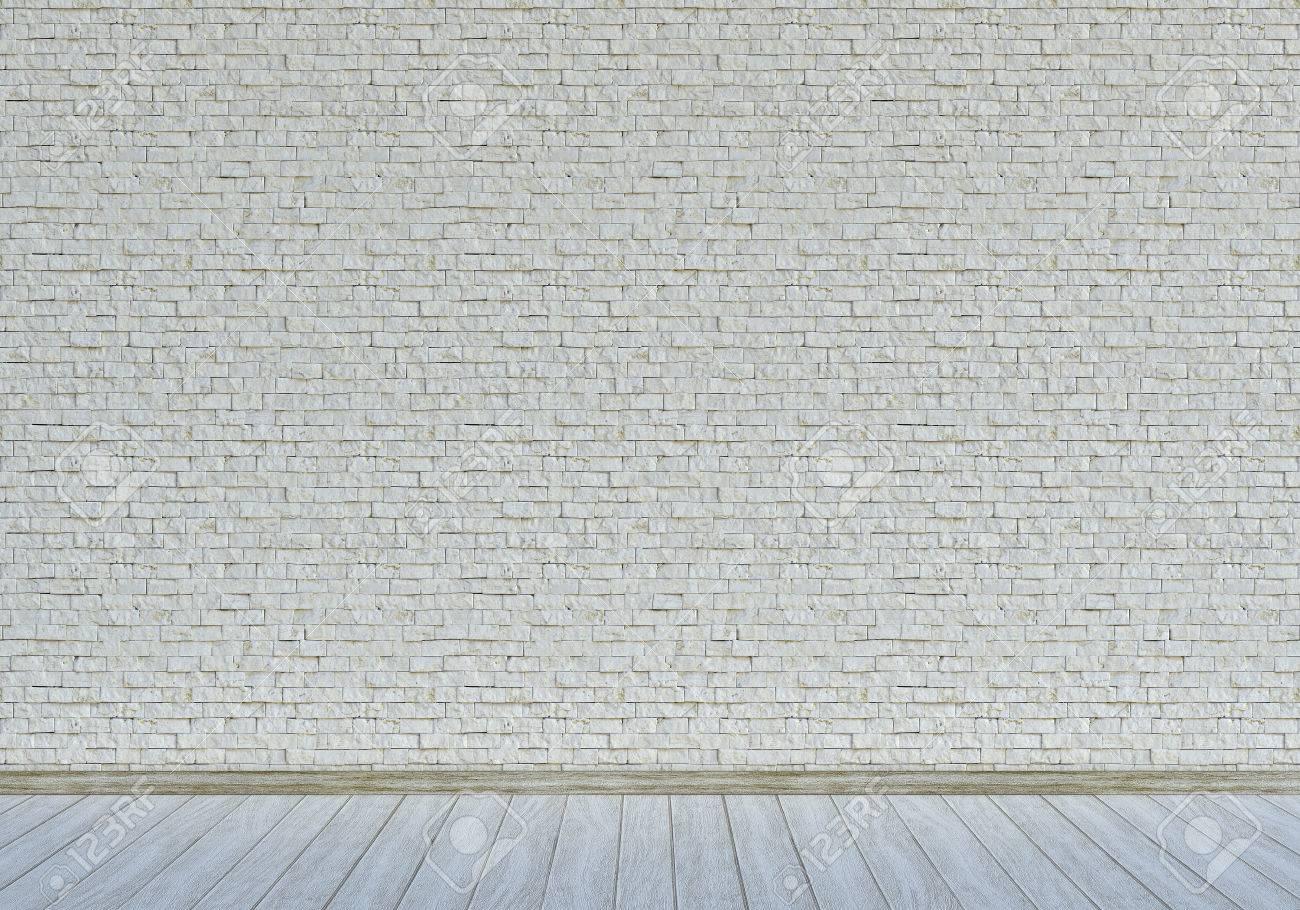 Wand mit weißen Steinen Standard-Bild - 26047079