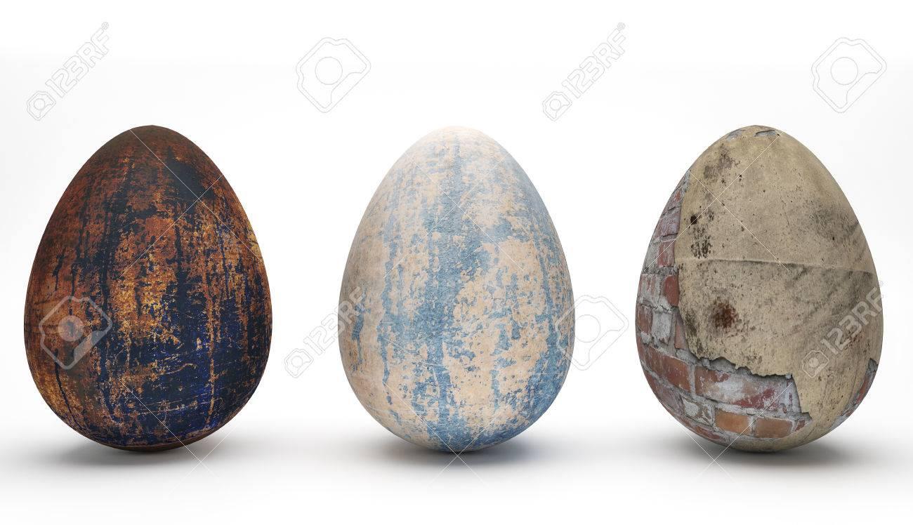 Sonder Easter Eggs ich Standard-Bild - 27576963