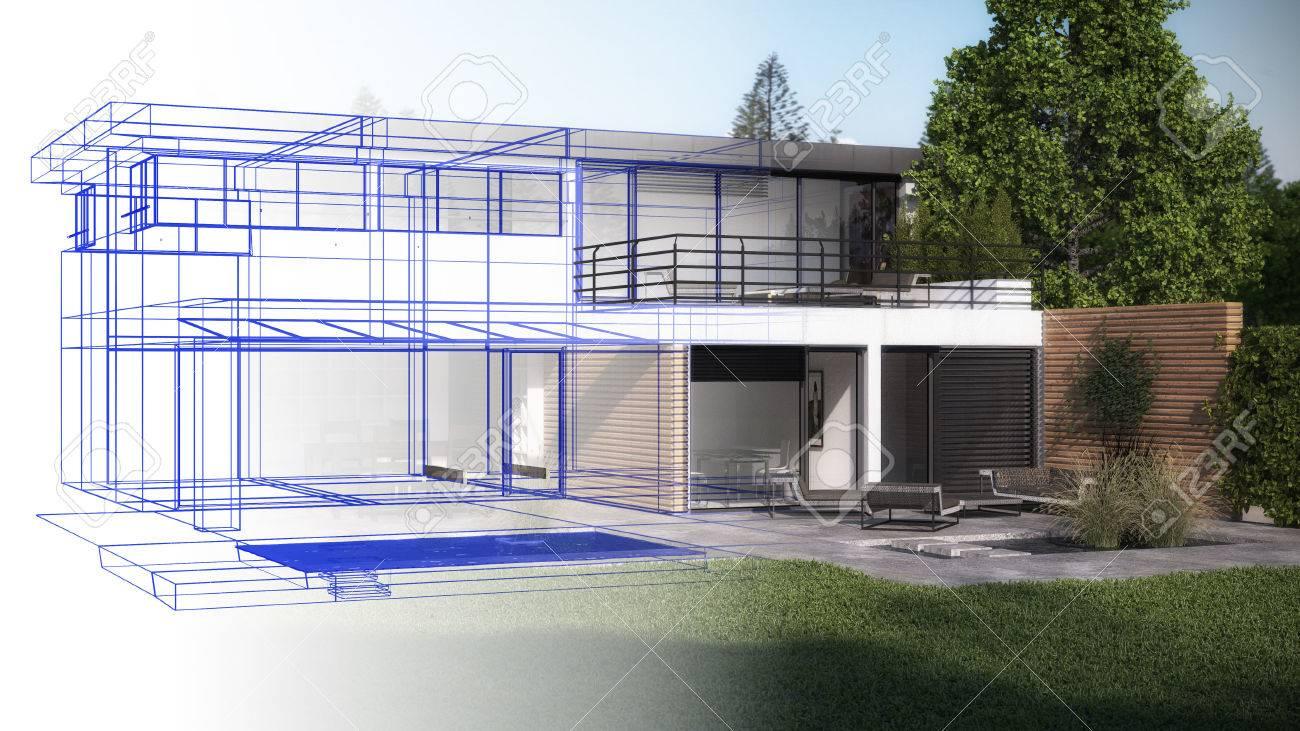 Real estate concept Standard-Bild - 30254973