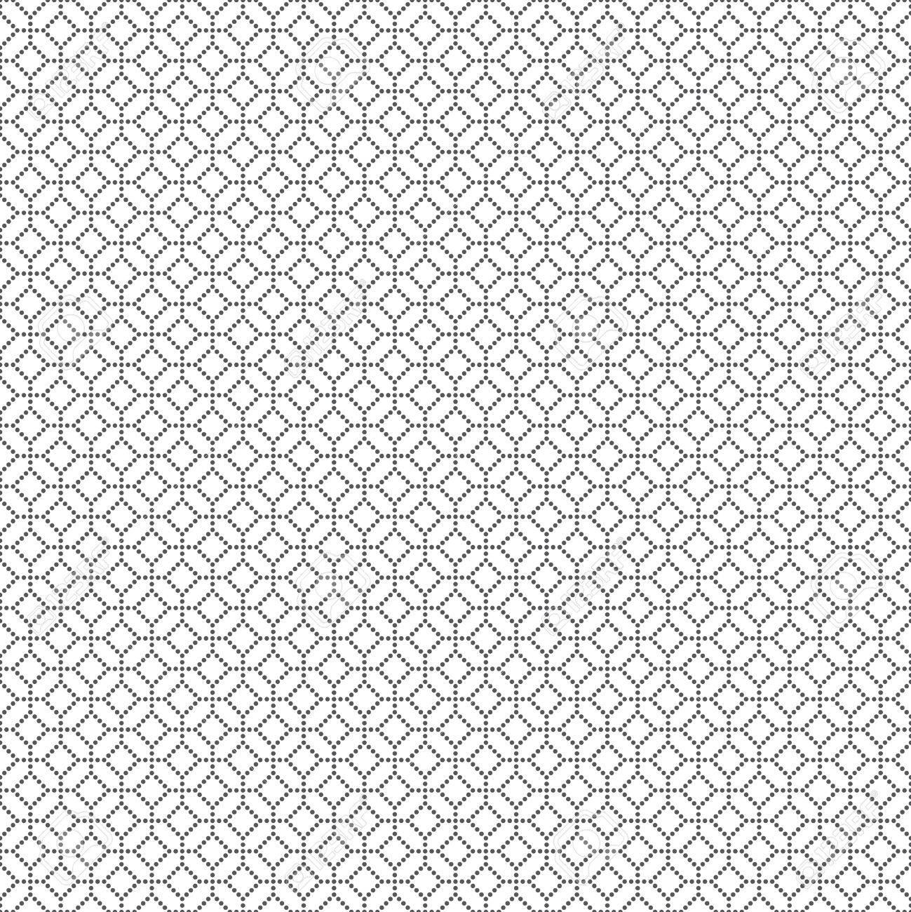 Patrón Transparente. Textura Geométrica Clásica Con Pequeños Puntos ...