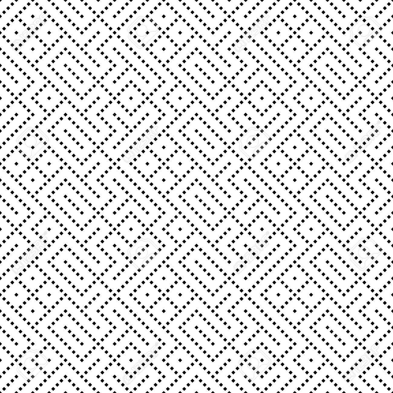 Patrón Transparente. Fondo Geométrico Abstracto Con Pequeños ...