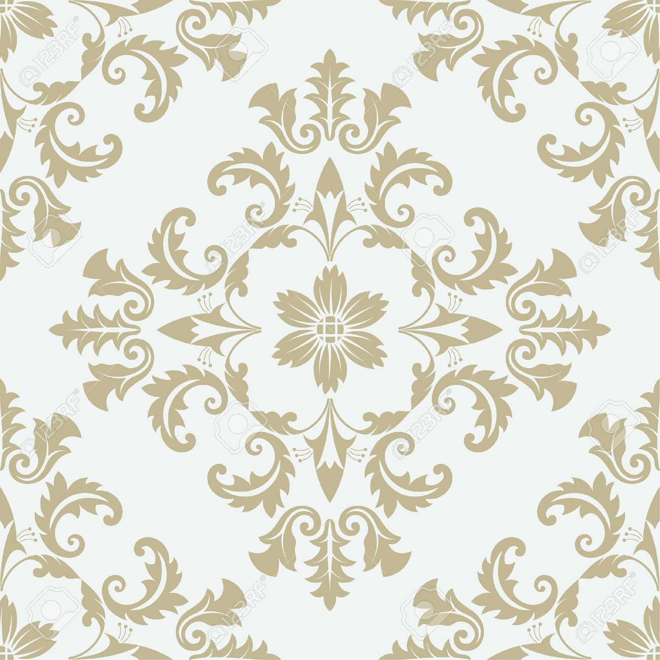 Luxury Floral Stylish Texture Of Damask Or Baroque Style Pattern Can Be Used As A Background Wallpaper Page Fill An Element Decoration Ornate