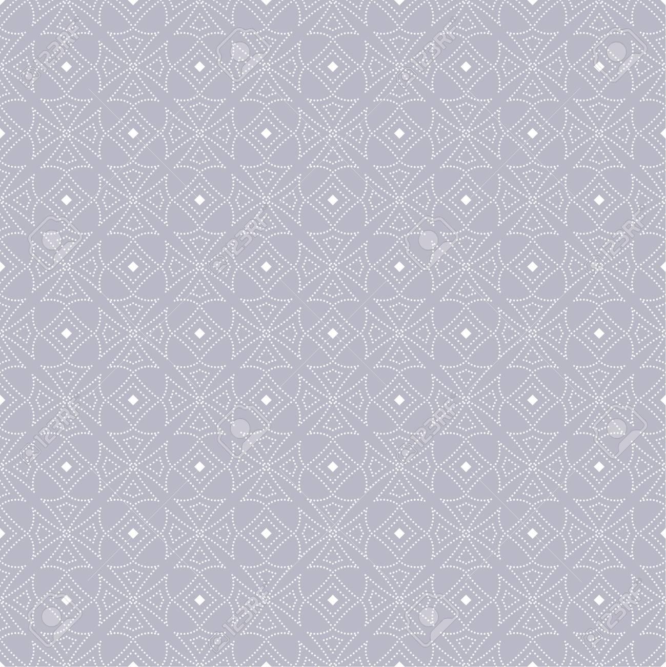 Patrón Transparente De Vector. Repetición De Textura Punteada De ...