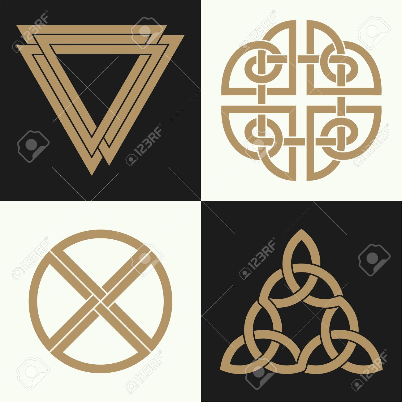 A set of the ancient symbols executed in the celtic style secret a set of the ancient symbols executed in the celtic style secret signs knots buycottarizona