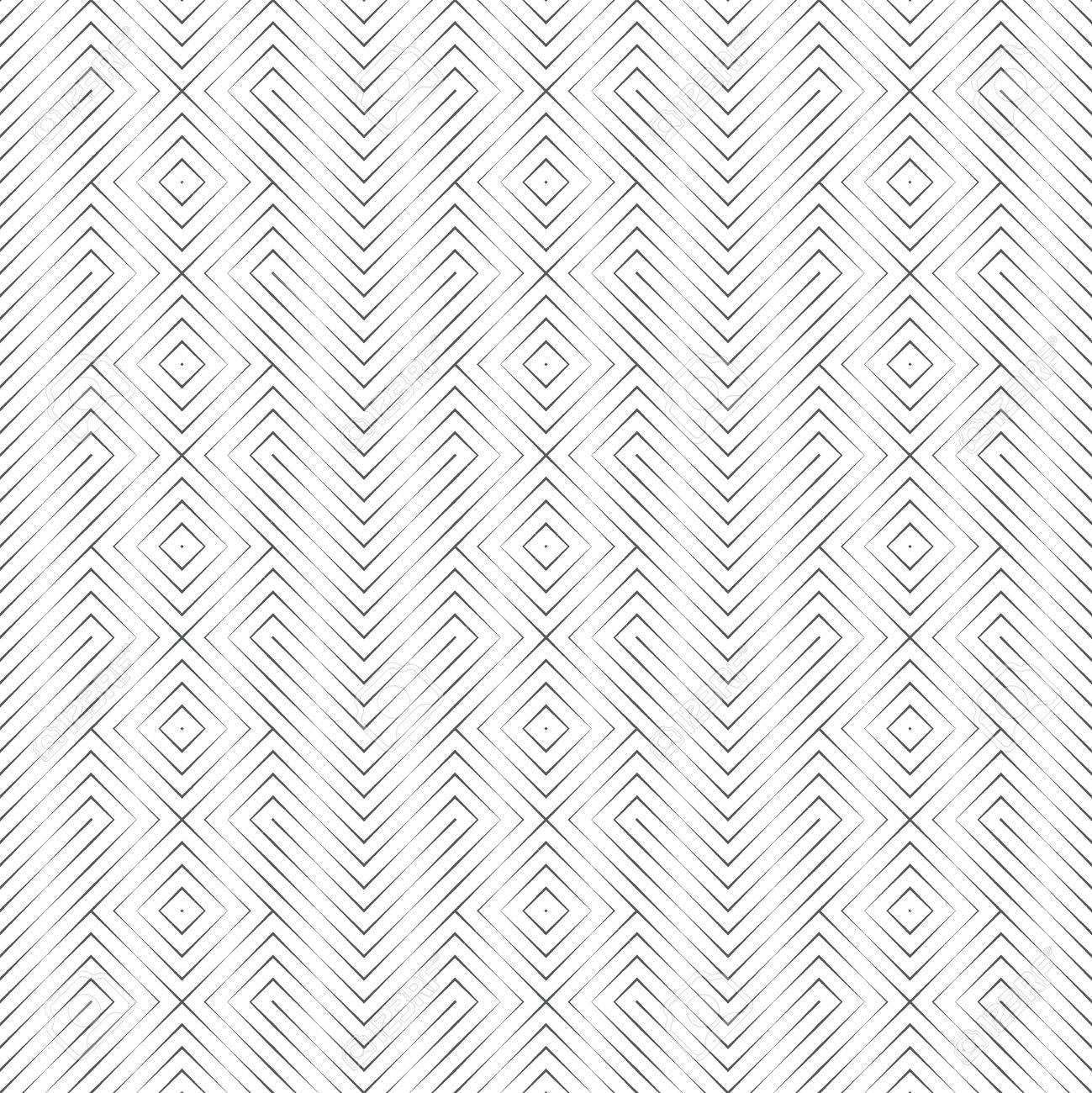 Modele Sans Couture De Vecteur Elegant Fond Geometrique Abstrait
