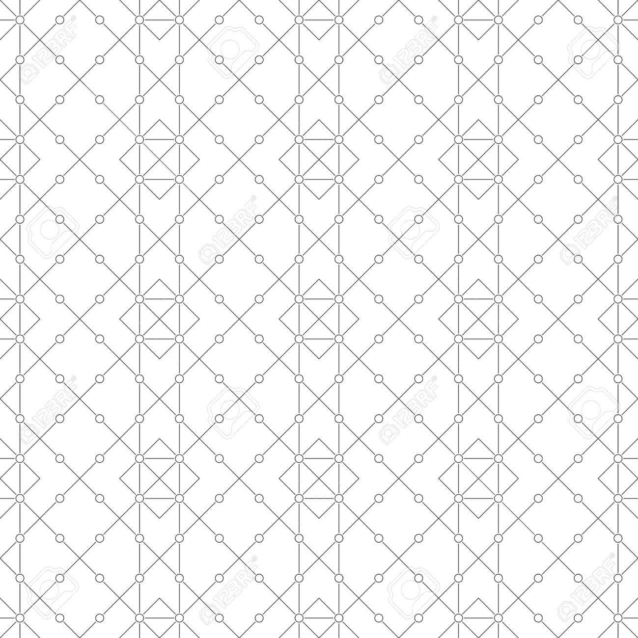 Modele Sans Couture Arriere Plan Geometrique Abstrait Classique