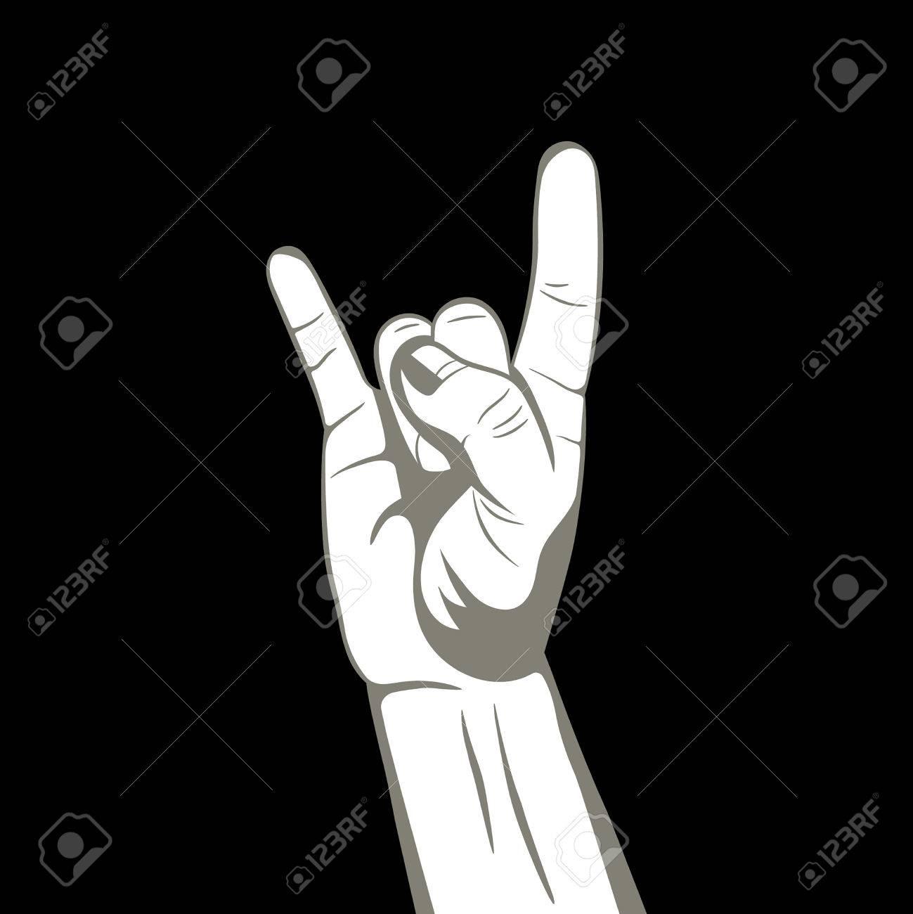 Hand with fingers upgn rocknrollmbol we togethere hand with fingers upgn rocknrollmbol we together buycottarizona