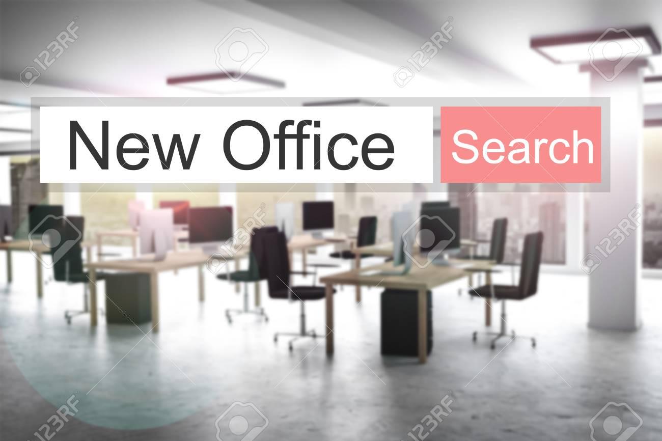 Websearch nouveau rouge bouton de recherche bureau moderne