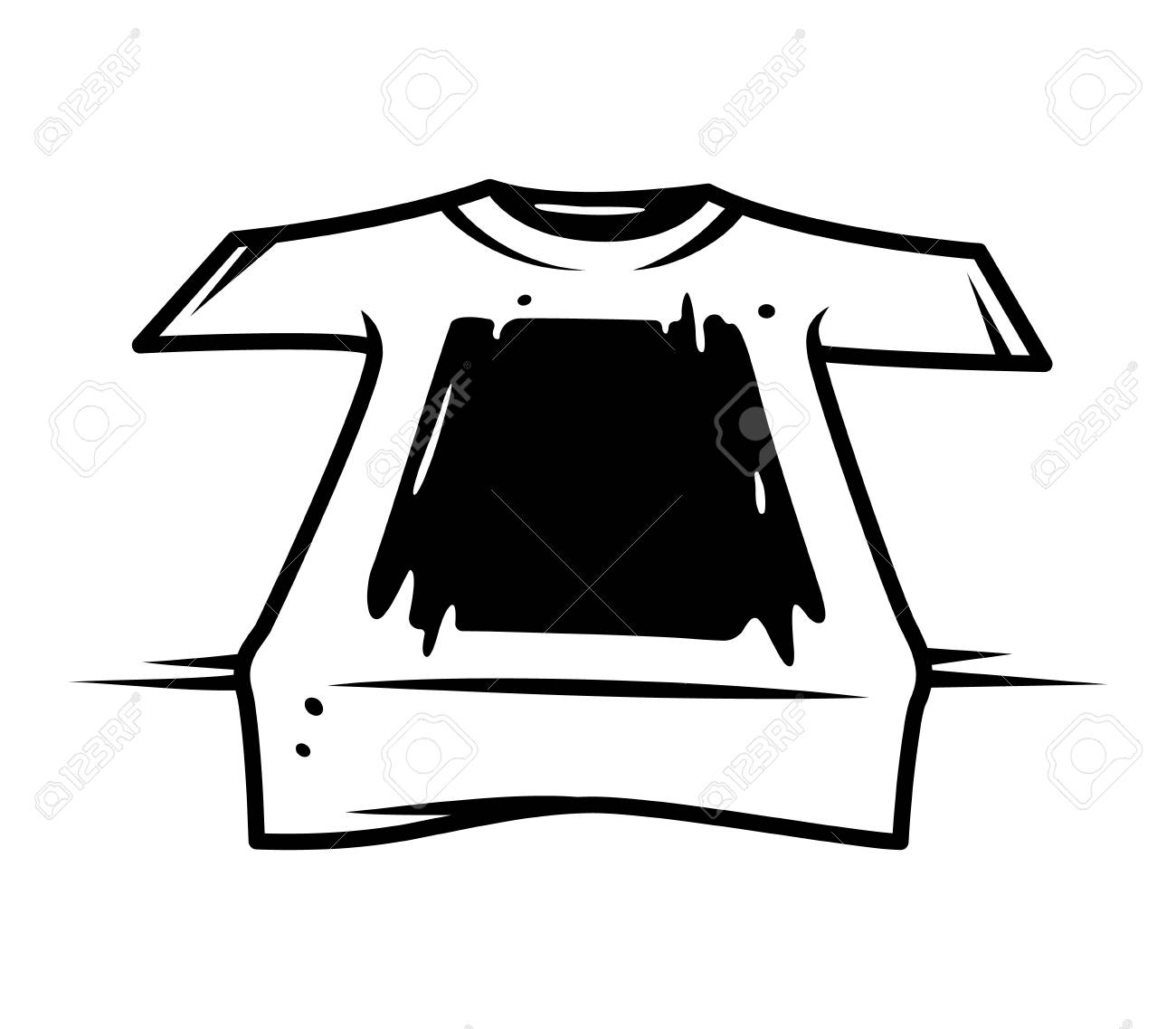 Vintage screen printing monochrome concept with - 109849439