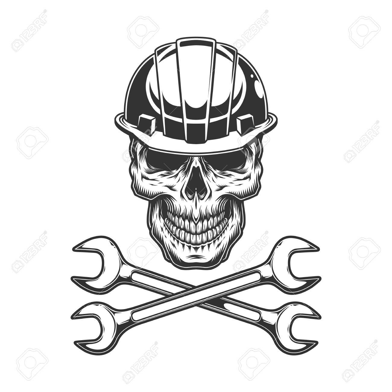 Skull Welder Vector