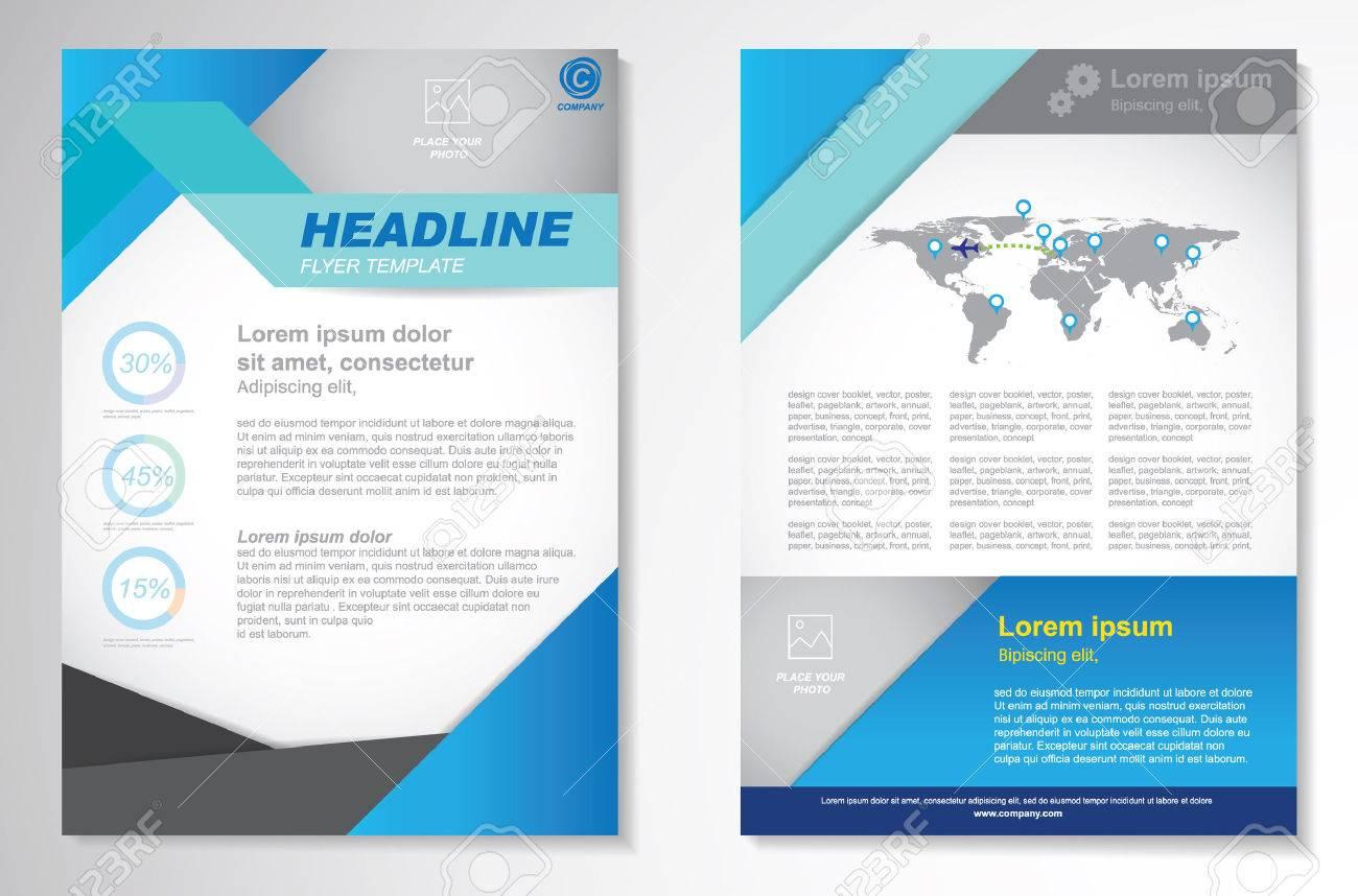 Vector Brochure Flyer design Layout template.infographic - 44008567