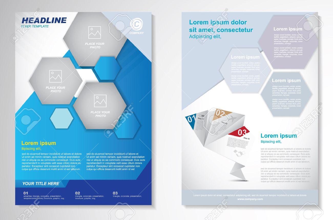 Vector Brochure Flyer design Layout template.infographic - 45067397