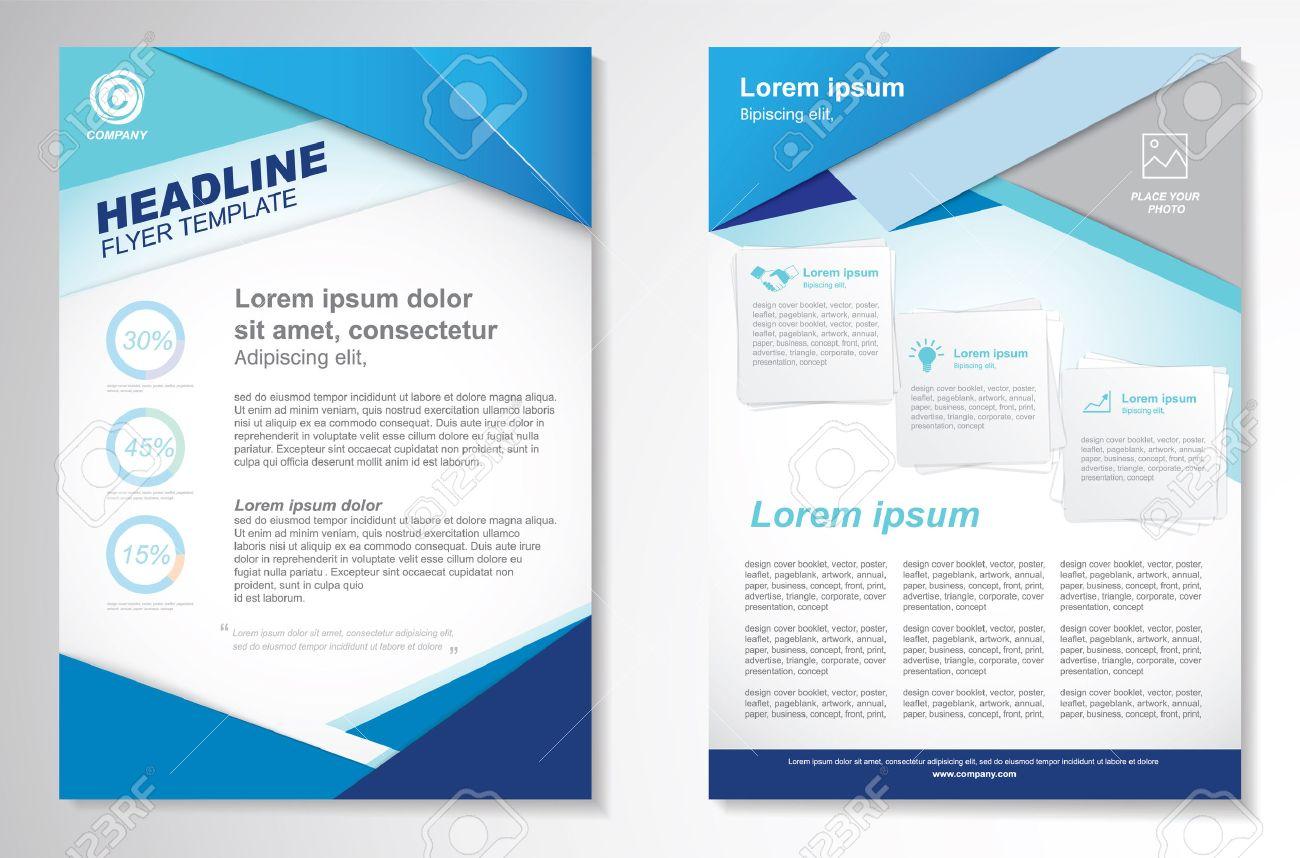 Vector Brochure Flyer design Layout template.infographic - 45067402