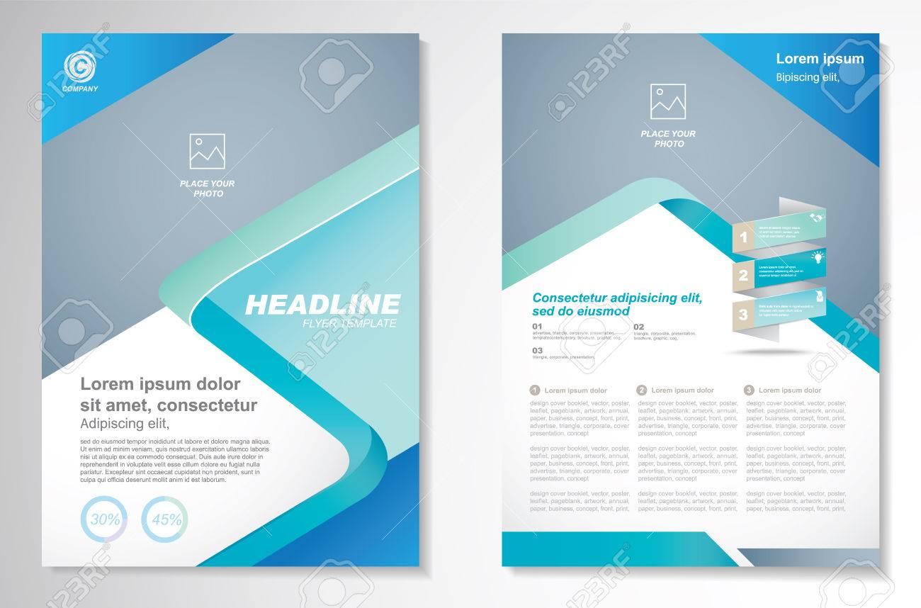 1 page brochure design