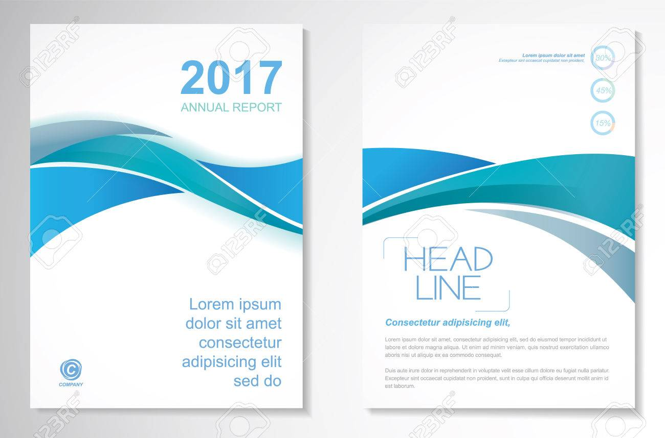 Vector Brochure Flyer design Layout template, size A4, Front page and back page, infographics. Easy to use and edit. - 71458518