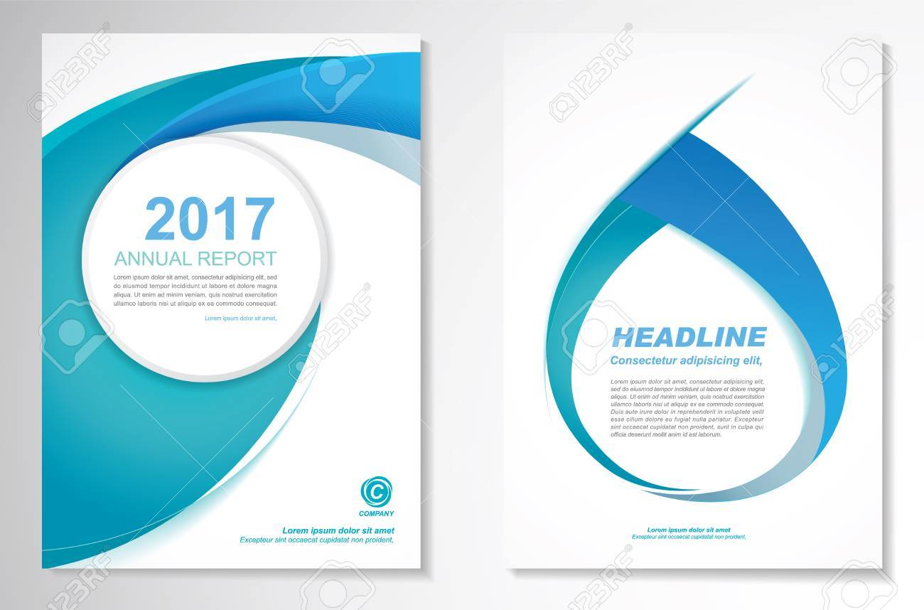 Vector Brochure Flyer design Layout template, size A4, Front page and back page, infographics. Easy to use and edit. - 71458577