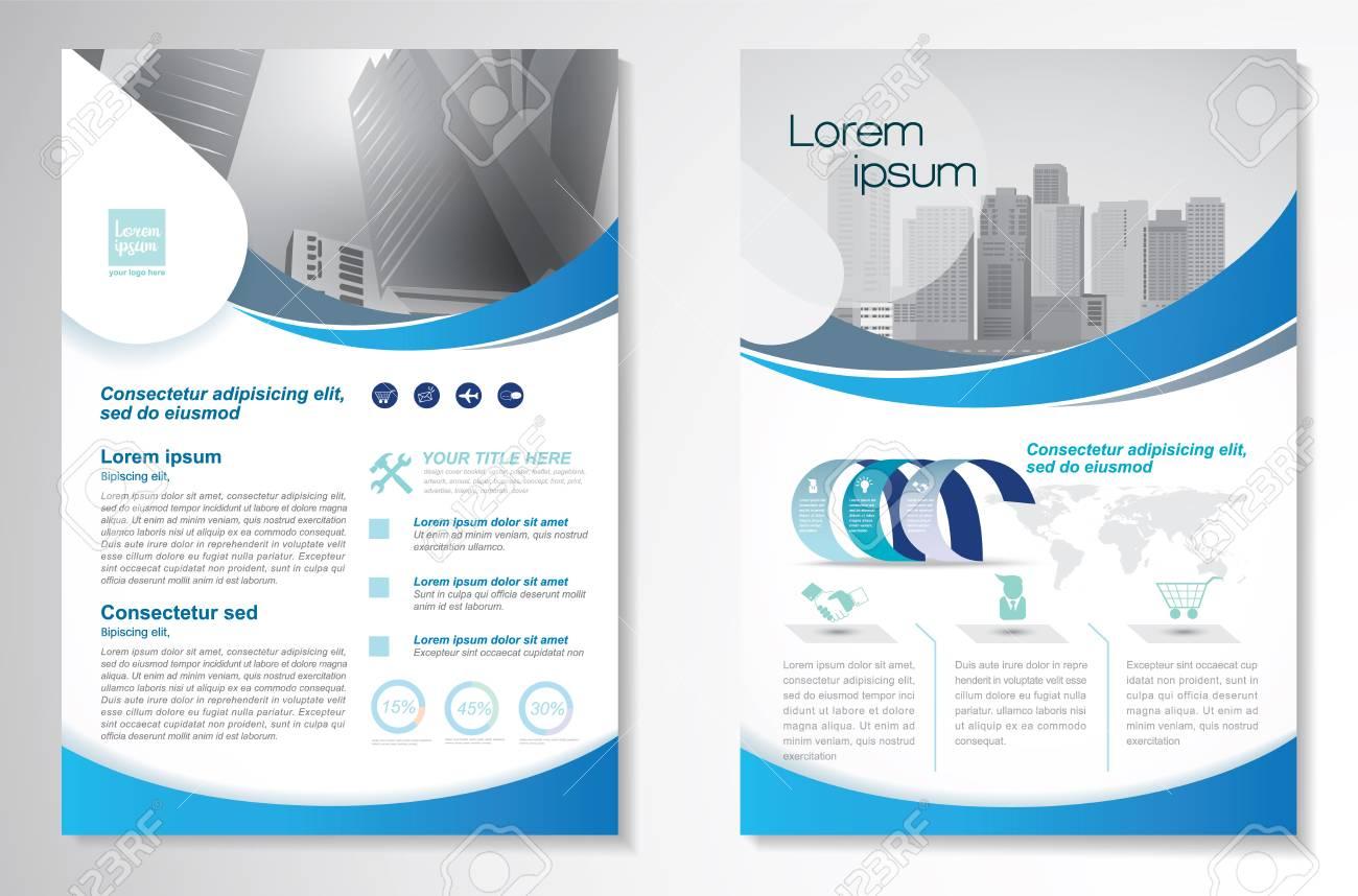 Template vector design for Brochure, Annual Report, Magazine, Poster. - 75578710