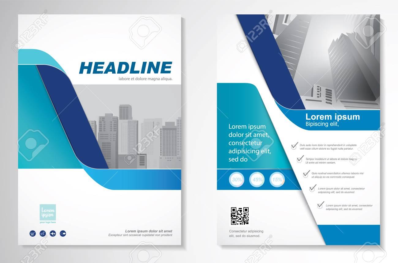 Template vector design for Brochure, Annual Report, Magazine, Poster. - 75578712