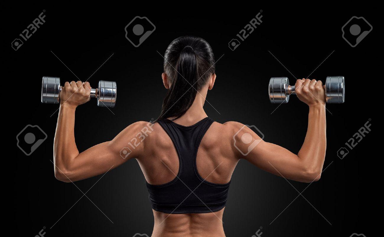 fitness dos femme