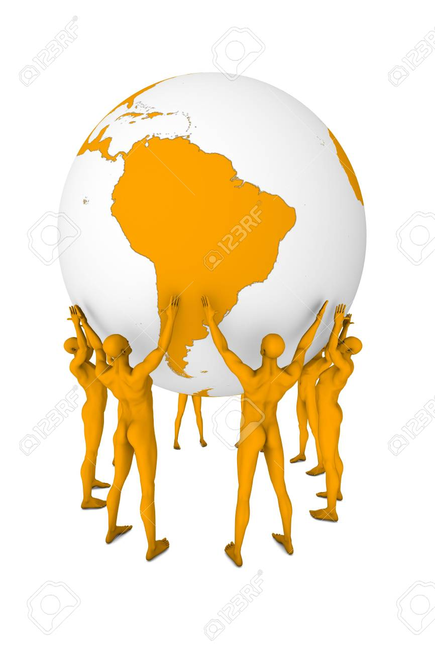 The Earth in dominion of people. Stock Photo - 5862398