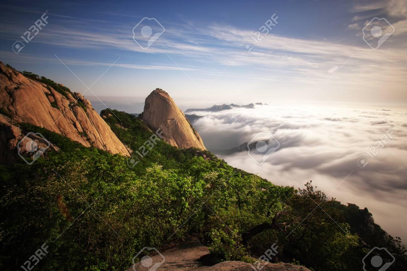 Beautiful mountains in Korea,Bukhansan - 24328351