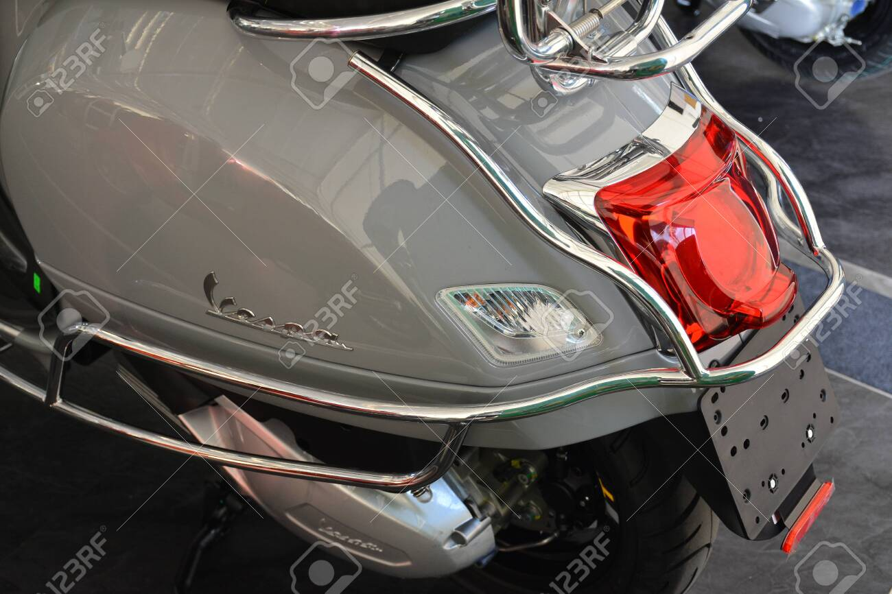 Pasig Ph Mar 7 Vespa Gts Super Tech Motorcycle At 2nd Ride Stock Photo Picture And Royalty Free Image Image 142311882