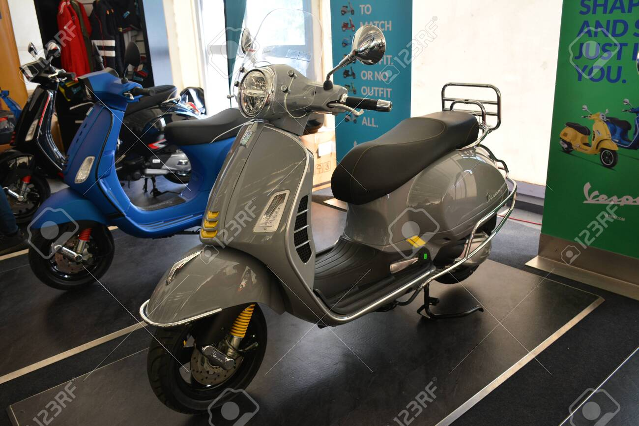 Pasig Ph Mar 7 Vespa Gts Super Tech Motorcycle At 2nd Ride Stock Photo Picture And Royalty Free Image Image 142315273