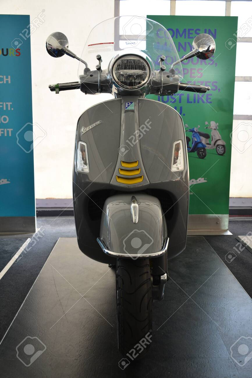 Pasig Ph Mar 7 Vespa Gts Super Tech Motorcycle At 2nd Ride Stock Photo Picture And Royalty Free Image Image 142315325