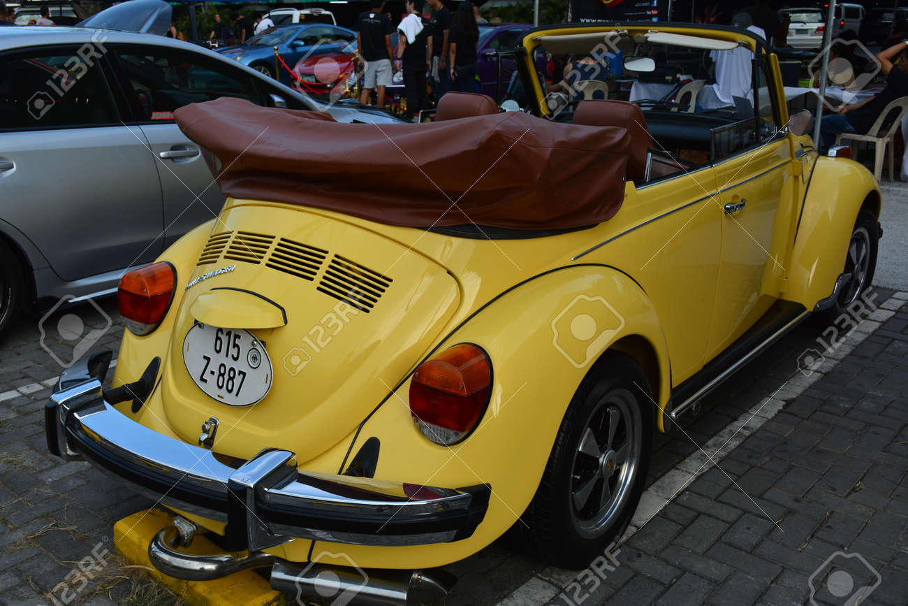 Quezon City Ph Apr 13 Volkswagen Beetle Convertible At Rev Stock Photo Picture And Royalty Free Image Image 146388048