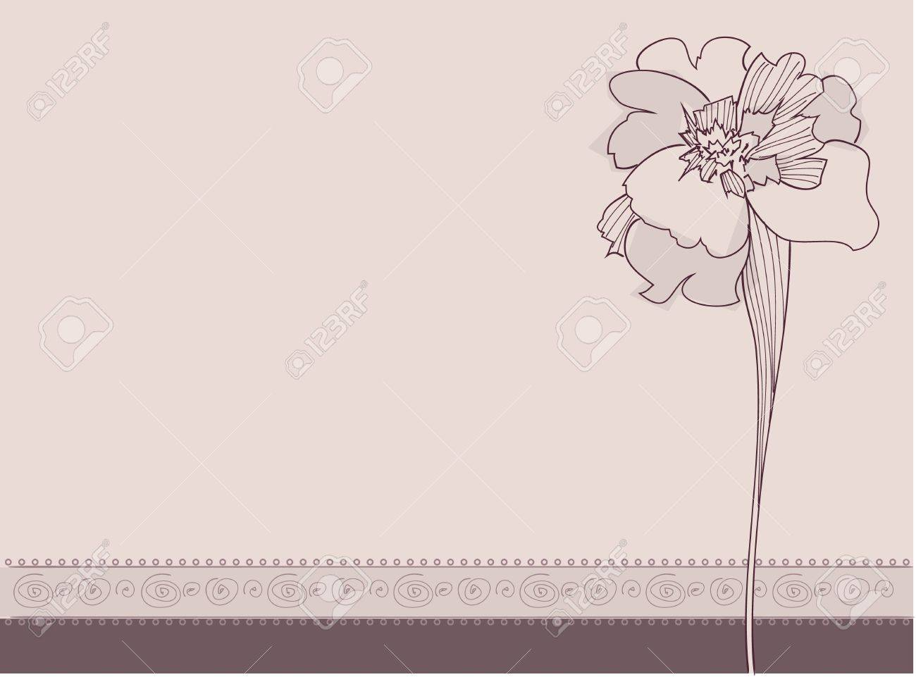 Illustration of Ornament Flowers Stock Vector - 10972064