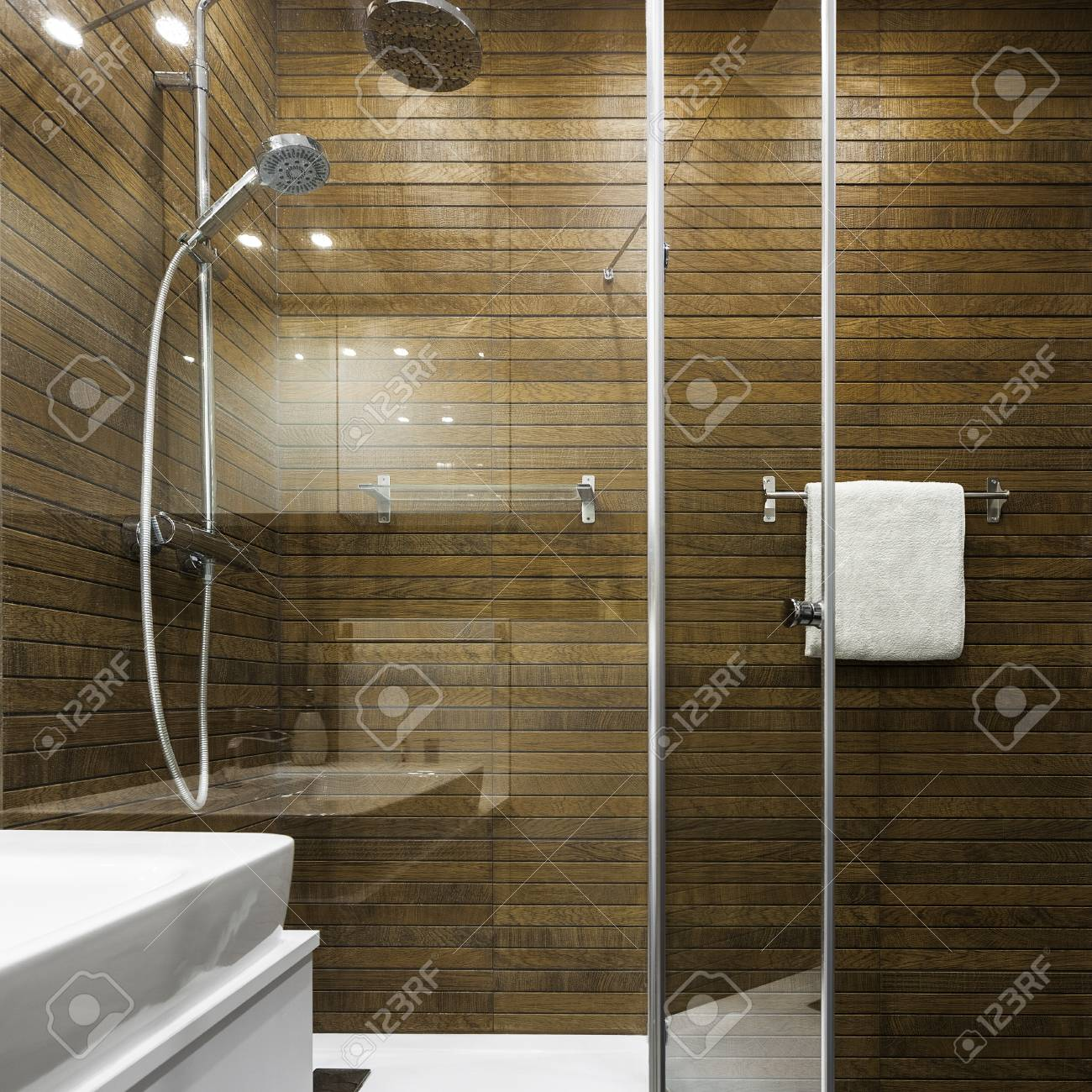 Scandinavian Design In Bathroom