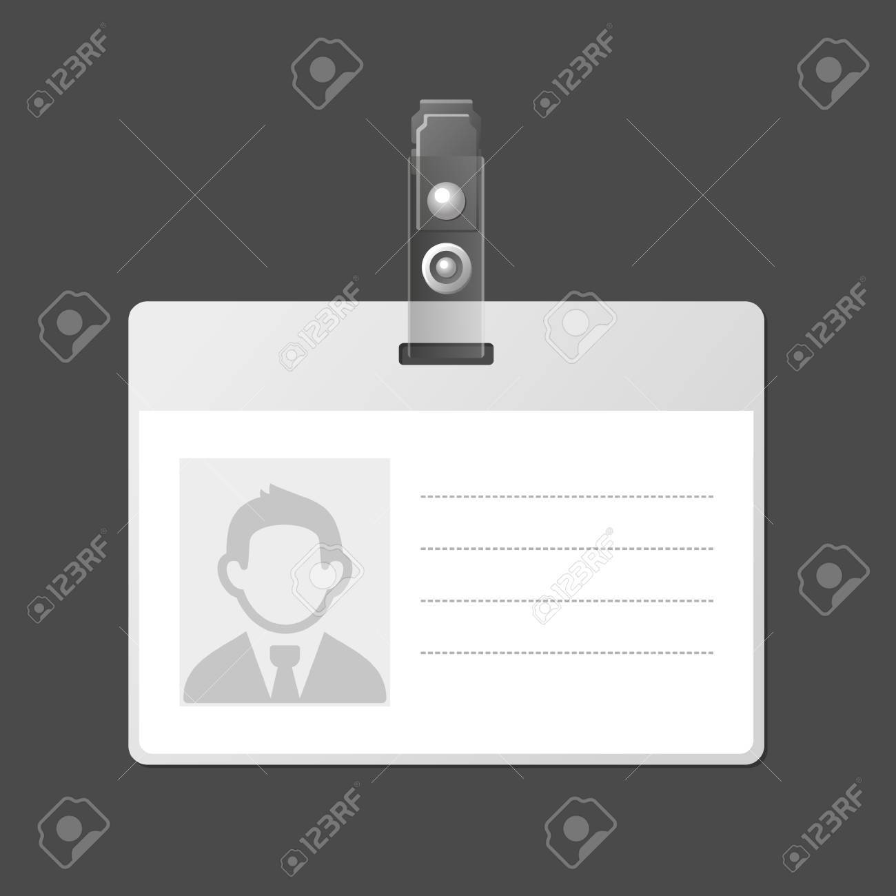 identification template free