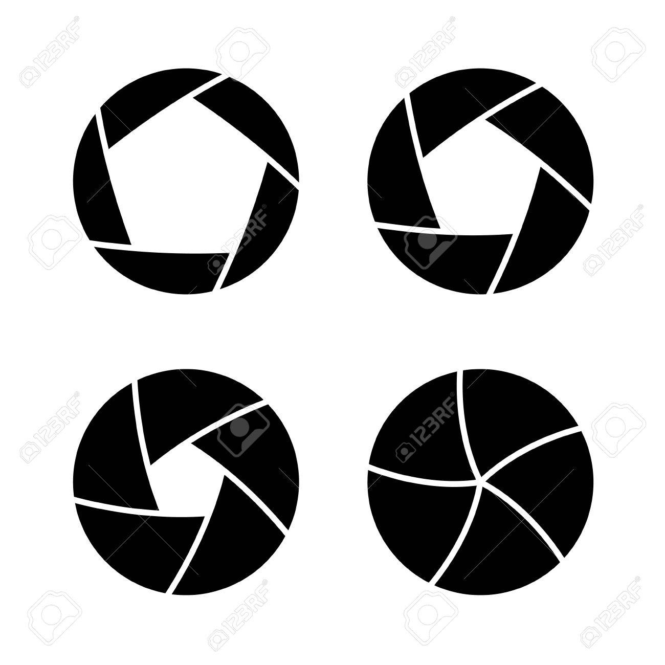 camera shutter with different open aperture vector royalty free rh 123rf com aperture vectorial aperture vector file