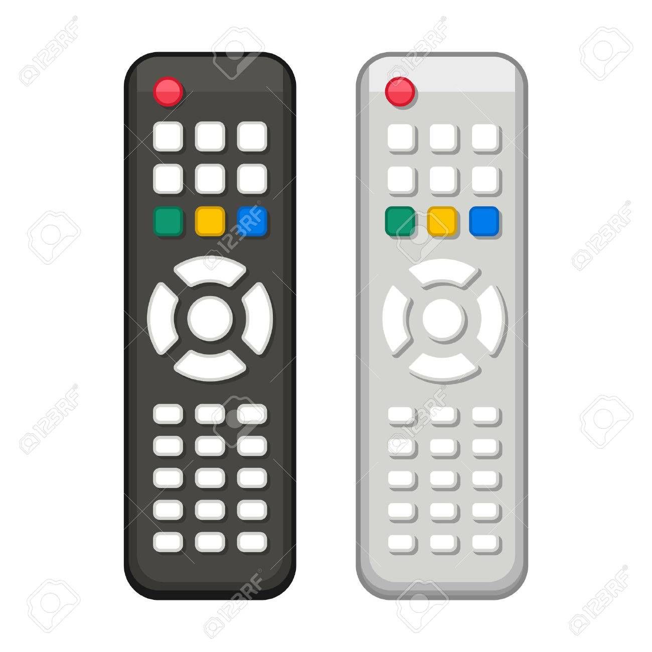 Tv Remote Control Clipart All About Kedsumr Wireless 1 Way On Off Digital Switch 110v For In Black And White Design Vector Royalty Free
