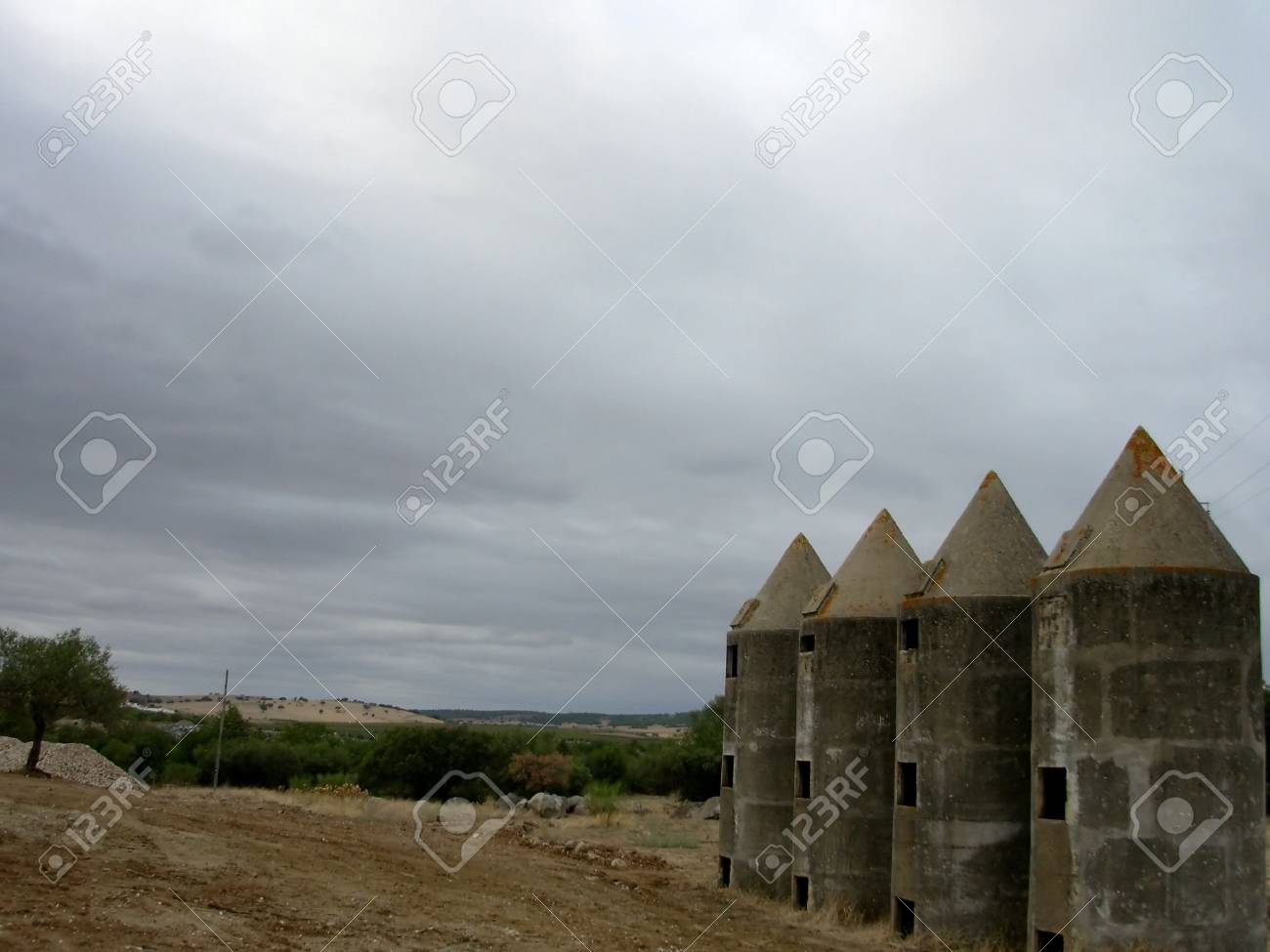 agricultural farm in Alentejo region, Portugal. Stock Photo - 536728