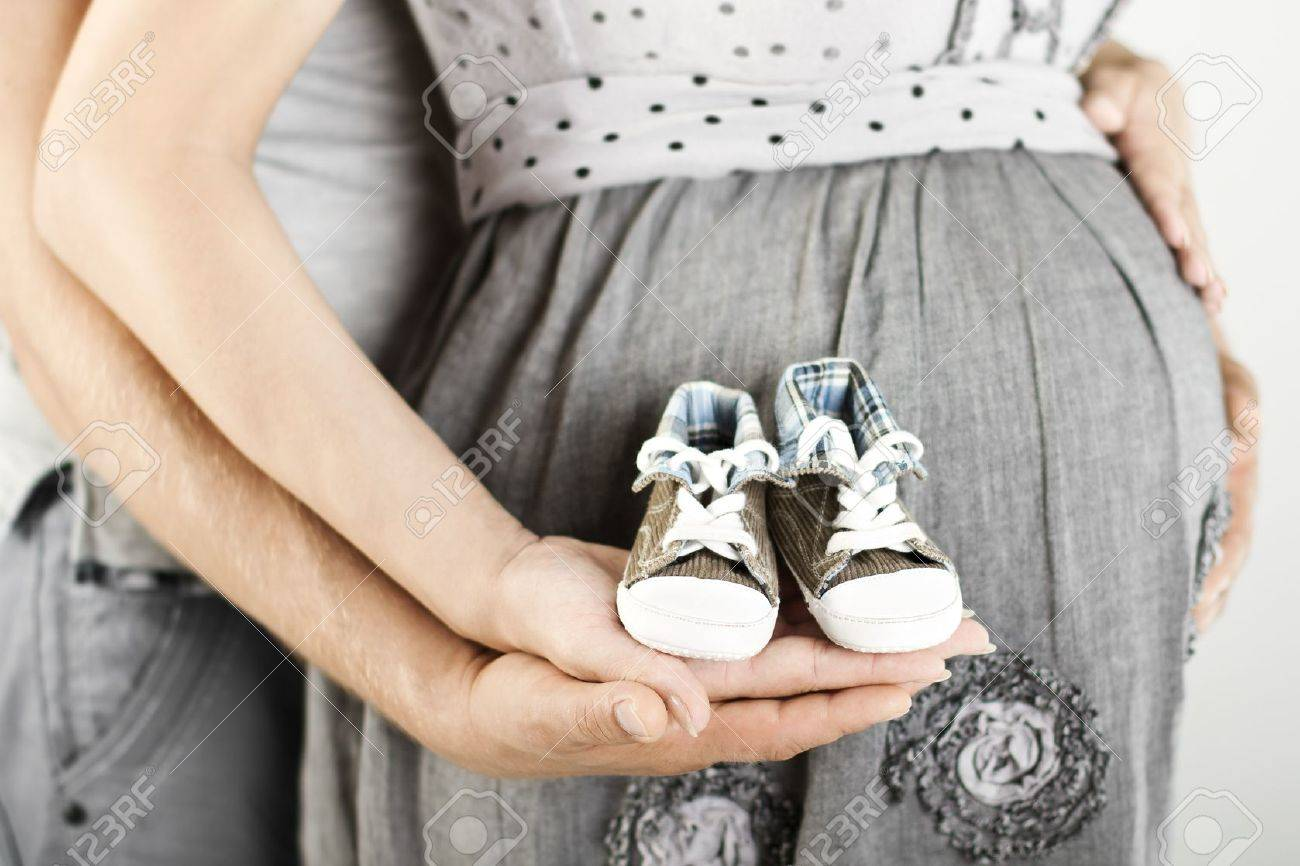 Фото беременная девушка и сзади папа 7 фотография