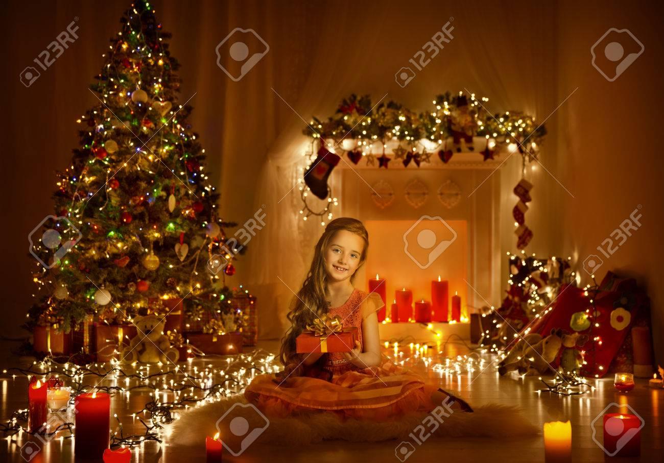 Weihnachtskind Mädchen Gruß-Geschenk-Kasten, Kind Im ...