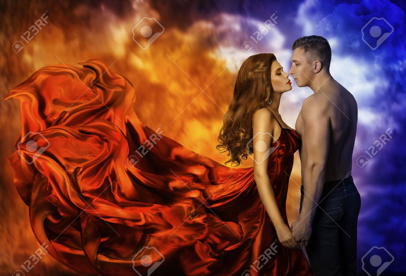 Latin Women Kissing